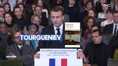 Profession Président : Emmanuel Macron fête la francophonie