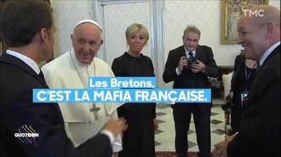 Profession président : Macron, le Pape et la mafia bretonne