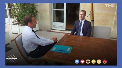 Profession président : LA rencontre Macron - Mark Zuckerberg
