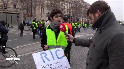 Qu'est-ce que le RIC, la nouvelle revendication des gilets jaunes ?