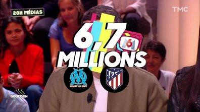 20h Médias : la Ligue Europa assure un carton à M6