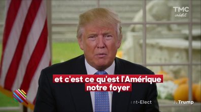 Martin Weill : Le message de Donal Trump pour Thanksgiving