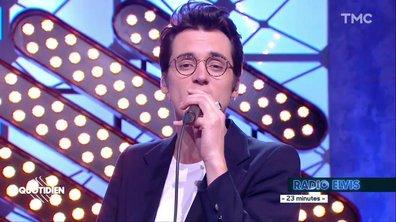 """Radio Elvis : """"23 minutes"""" en live pour Quotidien"""