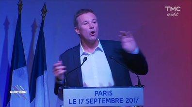 """Quotidien refusé d'accréditation chez """"Debout la France"""" !"""