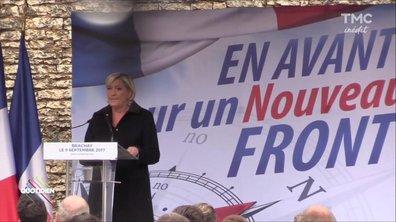 Rentrée politique : Marine Le Pen peut-elle faire front ?