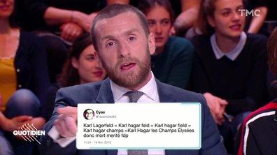 La revue de presse des haters : le Débathon, The Voice et Karl Lagerfeld (Pablo Mira)