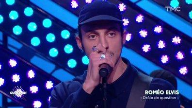"""Roméo Elvis : """"Drôle de question"""" en live pour Quotidien"""