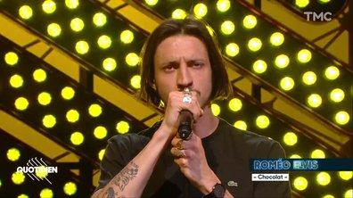 """Roméo Elvis : """"Malade"""" en live pour Quotidien"""