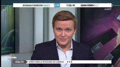 Qui est Ronan Farrow, l'homme qui a révélé le scandale Weinstein ?