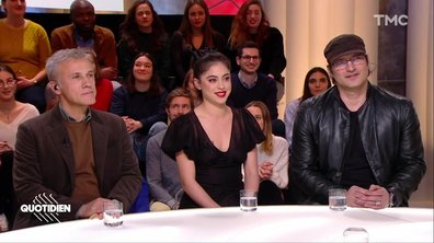 "Invités : Rosa Salazar, Christoph Waltz et Robert Rodriguez pour ""Alita : Battle angel"""