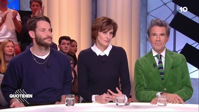 Invités hommage à Karl Lagerfeld : Simon Porte Jacquemus, Vincent Darré et Inès de la Fressange