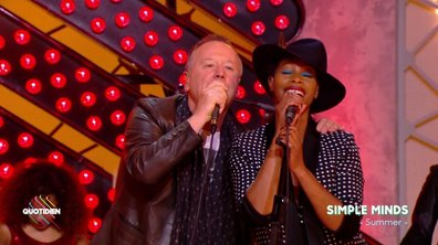 Simple Minds – « Summer » en live dans Quotidien (EXCLU WEB)
