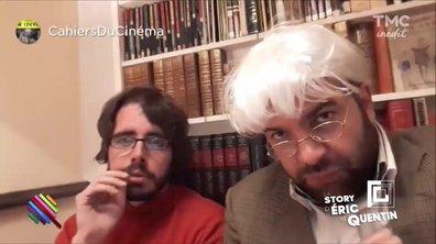 La Story d'Eric et Quentin : Les critiques des Cahiers du Cinéma