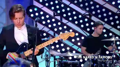 "The Naked and Famous : ""Youg blood"" en lilve sur Quotidien (exclu web)"