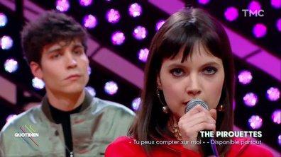 """The Pirouettes : """"Tu peux compter sur moi"""" en live pour Quotidien"""