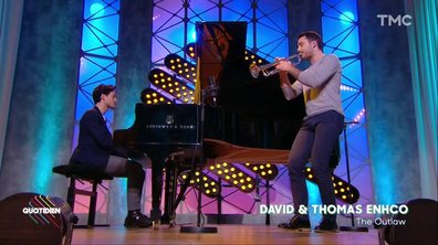 "Thomas et David Enhco – ""The Outlaw"" en live dans Quotidien"