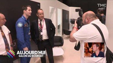 Thomas Pesquet, mascotte ultra-plébiscitée au salon du Bourget