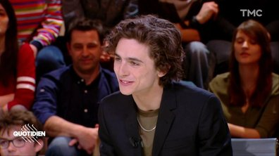 Invité : Timothée Chalamet, pour «My Beautiful Boy »