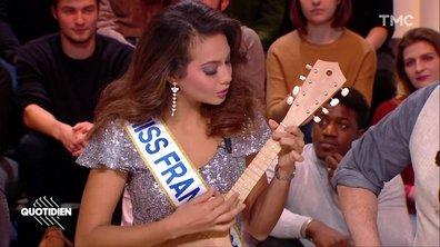 Découvrez l'autre talent de Vaimalama Chaves, Miss France 2019 : la musique