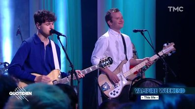 "Vampire Weekend : ""This life"" en live pour Quotidien"