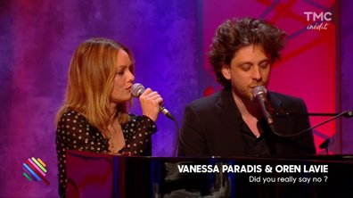 "Vanessa Paradis & Oren Lavie - ""Did you really say no"" en live dans Quotidien"