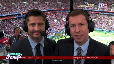 Vendredi Transpi : le match vu par le duo Margotton-Lizarazu