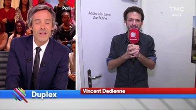 Vincent Dedienne en duplex de Suisse