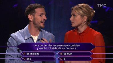 """Vincent Dedienne joue à """"Qui veut gagner des millions"""" avec Julie Gayet"""