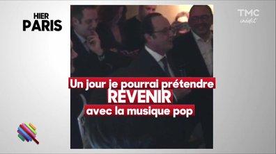 Les vœux Magic de François Hollande