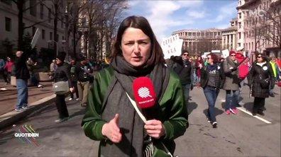 Washington : mobilisation historique contre les armes à feu