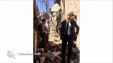 Wauquiez a visité l'Irak (et on ne pouvait le rater)