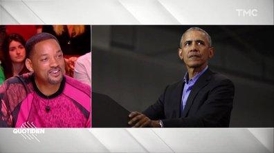 Will Smith prochain Barack Obama au cinéma ? Il répond