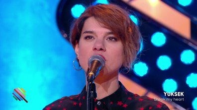 "Yuksek feat Monika - ""Break my heart"" en live dans Quotidien (exclu web)"