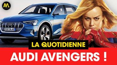 Audi Avengers - La Quotidienne du 23/04