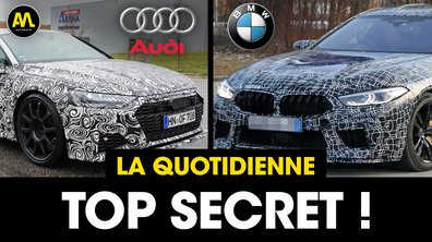 Top Secret : Audi vs BMW - La Quotidienne du 25/04