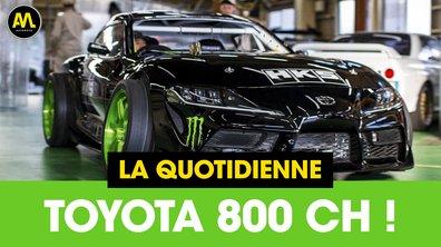 Toyota 800 chevaux - La Quotidienne du 24/04