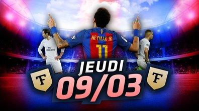 La Quotidienne du 09/03 - France / Bulgarie, Neymar, désastre européen : le Barça / PSG décrypté