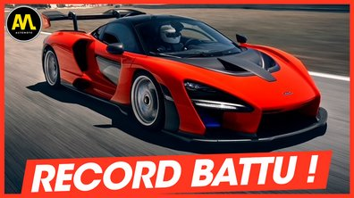 McLaren Senna, record battu ! - La Quotidienne du 20/05