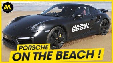 Porsche on the beach ! - La Quotidienne du 03/06