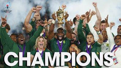 La Quotidienne de la Coupe du monde du 02/11 : Les Springboks sur le toit du monde