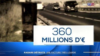 Radars détruits : une facture très lourde