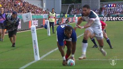 France - USA (12 - 3) : Voir l'essai de Raka en vidéo
