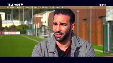 """[EXCLU Téléfoot 14/01] - Ligue 1 / Rami : """"C'est possible d'être champion, l'OM peut faire mal dans le futur"""""""