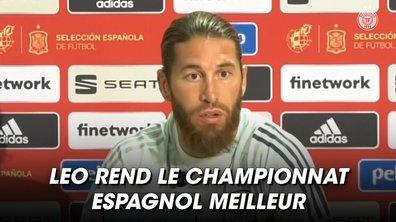 VIDEO - La déclaration d'amour de Sergio Ramos à Messi