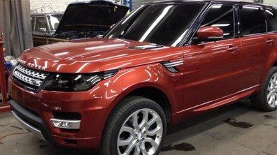 Nouveau Range Rover Sport 2013 : premières photos volées