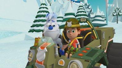 Pile-Poil et les bébés manchots orhpelins - Ranger Rob