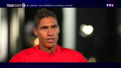 "[EXCLU Téléfoot 15/09] - Varane : ""Avec les Bleus, on a encore envie de gagner des titres"""
