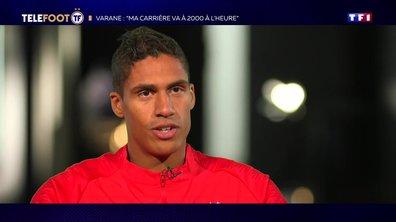 """Raphaël Varane : """"Ma carrière va à 2000 à l'heure"""""""