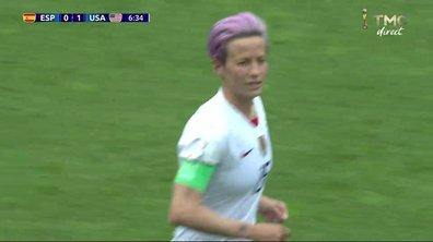 Espagne - Etats-Unis (0 - 1) : Voir le but de Rapinoe sur penalty en vidéo