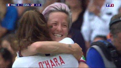 France - USA (0 - 1) : Voir le but de Rapinoe en vidéo !